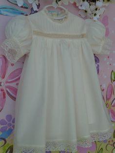 Girl's Heirloom Dress. $98.00, via Etsy.