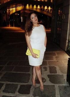 I want a white dress for summer SO badly via bigdollsboudoir (plus size fashion)
