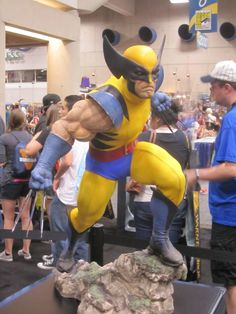 Wolverine by Sideshow Collectibles - 2012 SDCC #marvel #wolverine #sideshowcollectibles #sdcc