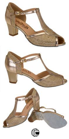 da2a86a3 Zapatos de baile para aficionadas que desean disponer de un calzado  especifico de baile de salon