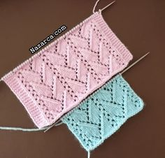 Knitting Paterns, Easy Knitting, Knit Patterns, Crochet Bikini, Knit Crochet, Waffle Stitch, Diy And Crafts, Blanket, Blog