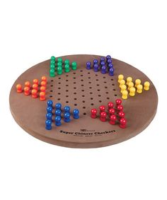 Super Chinese Checkers Set by S&S Worldwide $21.99 [Photo] http://mcdn.zulilyinc.com/images/cache/product//78001/zu8185811_alt_1_tm1393626381.jpg