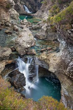 Fairy Pools, Isle of Skye - Western Scotland                                                                                                                                                                                 More