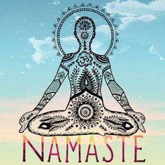 Namaste! #NationalYogaMonth