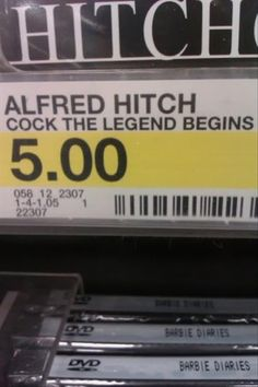 Fonts and spacing, people. Fonts and spacing.