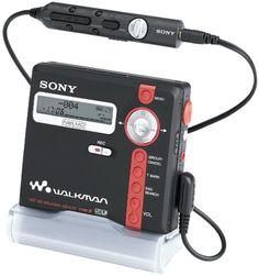 Sony MZ-N707 Net MD Walkman Player/Recorder (Black)