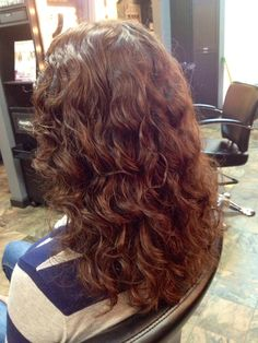 Naturally Curly Cut, diffused and color balanced to chestnut brown. Emerald City Hair Studio.   • Voted Best Salon & Spa in Citrus Heights & Top 10 Best Hair Color Salons in Sacramento hair by Gina R. #EmeraldCityHair #AvedaColor #Aveda http://www.EmeraldCityHair.com