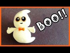 Polymer Clay Halloween Ghost Charm tutorial