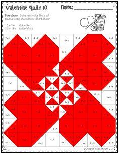 Fractions Quilt Bingo Fractions, Math school, Homeschool