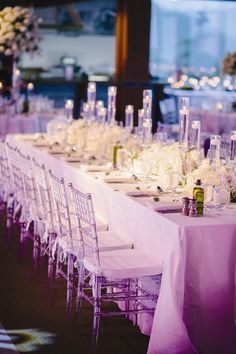 White Wedding Reception Decor | James Christianson Photographer | Theknot.com