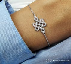 Endless Love Diamond Bracelet