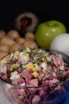 Estonia Rossolje (Potato and Herring Salad)