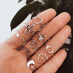 75 beautiful jewelry ideas for women - # for - accessoires & shoes♡ - Frauenschmuck Dainty Jewelry, Cute Jewelry, Women Jewelry, Fashion Jewelry, Jewlery, Jewelry Shop, Gold Jewelry, Jewellery Rings, Trendy Jewelry