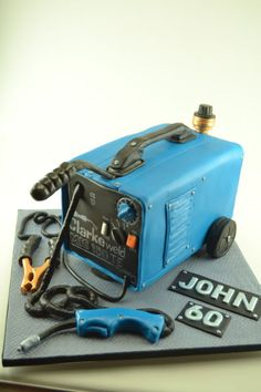 Welding machine cake