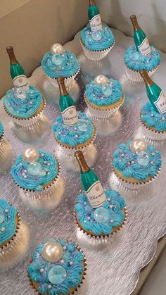 """These are our """"Diamonds Are a Girls Best Friend Cupcakes.  TopHat's & TuTu's"""
