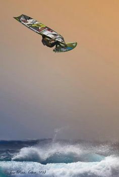 At altitude! #windsurfing #travel