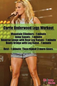 Carrie Underwood legs!