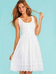 50 White Dresses Under $50 : Lucky Magazine