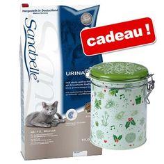 Animalerie  Croquettes Sanabelle 10 kg  boîte de conservation Hiver offerte !  Sensitive volaille