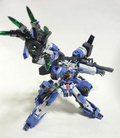 GUNDAM GUY: 1/144 GN-001 Gundam Exia Z2 - Custom Build