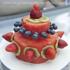 """Fruit"" Cake (Clean Eating, Gluten Free, Dairy Free 100% natural!!) 