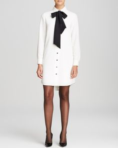 Kate spade new york Griffin Shirt Dress | Bloomingdale's I really think I like this!
