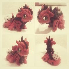 Guardian del dado, con forma de dragón