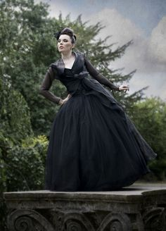 Black wedding dress - The Couture Company