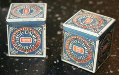 Vintage Minature Huntley and Palmers  Sample Biscuit by Tinternet