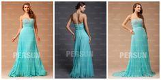 Elegant Strapless Pleated Beading A-line Prom Dress