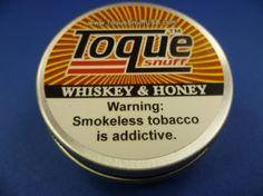 Toque USA Snuff Whiskey & Honey, 10 g Dose<br><br>