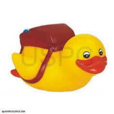 The classic rubber duck has been given a new twist! Yellow duckies are themed with a sport, profession, or hobby! The yellow rubber duck is for all ages and can be use in the Spa, Pool, or even the ba