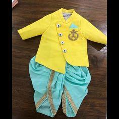 Boys Party Wear, Kids Wear Boys, Kids Party Wear Dresses, Kids Dress Wear, Baby Birthday Dress, Baby Boy Dress, Baby Girl Dress Patterns, Baby Dresses, Kids Indian Wear