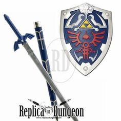 Deluxe Zelda Sword and Shield Combo