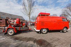 #Volkswagen #transporter T1, Firetruck, #brandweer, #Kortenhoef, #Wijdemeren, Netherlands