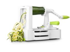 This spiral cutter has a unique multi-blade system that enables you to create three different types of noodles from a variety of vegetables, so you'll always be Spiral Cutter, Types Of Noodles, Beetroot, Blade, Prepping, Apples, Unique, Carrots, Potatoes