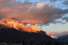 Canmore, Alberta. Canada...the majestic mountains