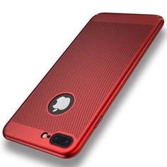 FLOVEME For iPhone 7 6 6S Plus iPhone 5 5S SE Armor Case Heat Resistant Breathable Phone Bag Cases For iPhone X Ultra Thin Cover