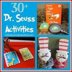 30+ Dr. Seuss Activities for Children – Preschool and Kindergarten Community from Homeschool Creations