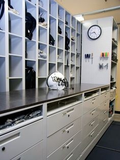 Athletic Equipment Storage u2013 University of Central Florida. & 42 best Football Equipment Rooms images on Pinterest | Football ...