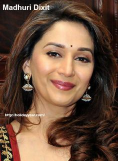 May 15 - Madhuri Dixit, Indian Bollywood actress was Born Today. For more famous birthdays http://holidayyear.com/birthdays/