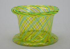 KAJ FRANK - Glass bowl for Nuutajärvi Notsjö, Finland.   [h. 7 cm, Ø 9 cm]