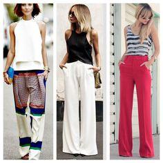 Que tal uma pantalona charmosa para enfrentar o dia cinza (pelo menos em Sp!)? Bom dia! #advoguettes #executivas #nicepants #workoutfit