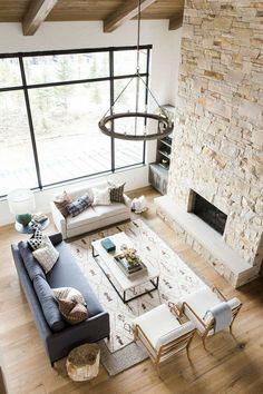 Une maison contemporaine dans les montagnes américaines - PLANETE DECO a homes world