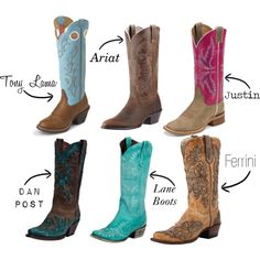 Which would you choose? Cowgirl Boots by Cassidy Magazine