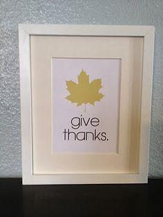 Top Ten Thanksgiving Decoration Ideas- A Pinterest Roundup!  #Thanksgiving  #DIY #Decor #Craft