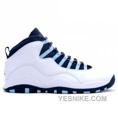 the best attitude bd34b 81046 Air Jordan 10 (X) Retro Ice Blues White Obsidian Ice Blue Varsity Red  featuring