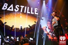 Bastille onstage at the 2014 iHeartRadio Music Festival! #iHeartRadio