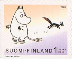 (Moomins - Pictures from the book Moominland Midwinter) Marie And Pierre Curie, George Macdonald, Robert Fuller, Tove Jansson, George Bernard, Booker T, Hans Christian, Gaston, Postage Stamps