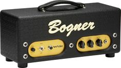 Bogner New Yorker 12w Tube Guitar Amp Head Comet Black. Looking foreward to this comming in the mail